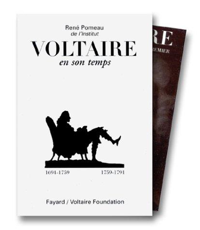 9782213595535: Voltaire en son temps, 2 tomes