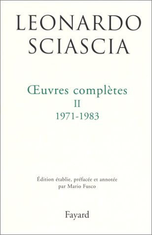 9782213597546: Oeuvres completes II 1971-1983 (French Edition)