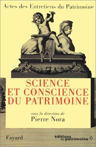 9782213598505: Entretiens du patrimoine, tome 1 : Science et conscience du patrimoine