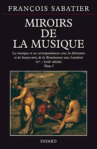 Miroirs De La Musique: Sabatier Francois