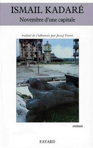 9782213602622: Novembre d'une capitale (French Edition)