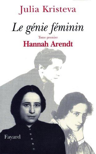 9782213603889: Le génie féminin, tome 1 : Hannah Arendt