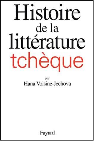 9782213607436: Histoire de la littérature tchèque