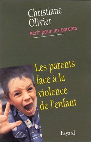 9782213607641: Les Parents face � la violence de l'enfant