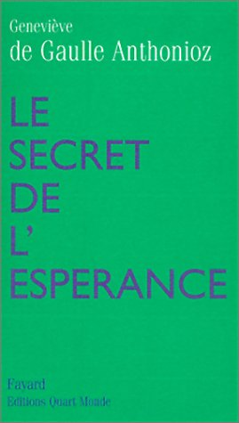 9782213610313: Le Secret de l'espérance