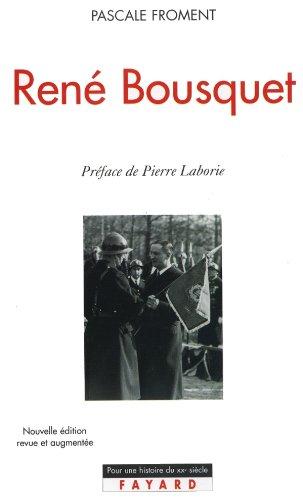 9782213610474: René Bousquet