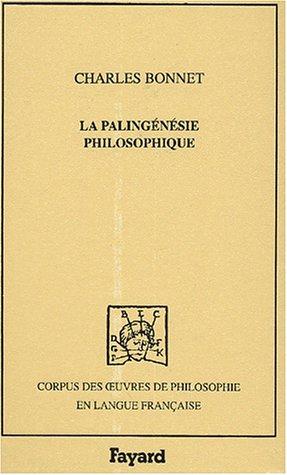 9782213610856: Palingenesie philosophique 1770