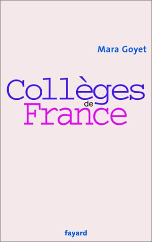 9782213614618: Collèges de France