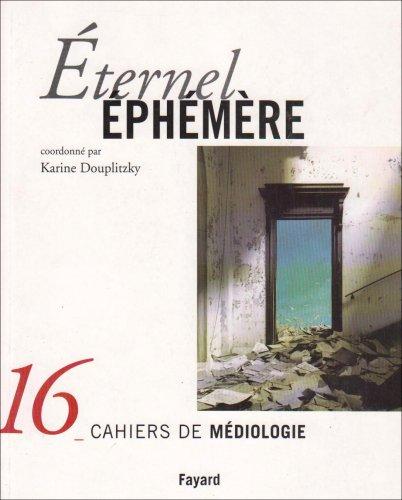 9782213616773: Eternel �ph�m�re, num�ro 16