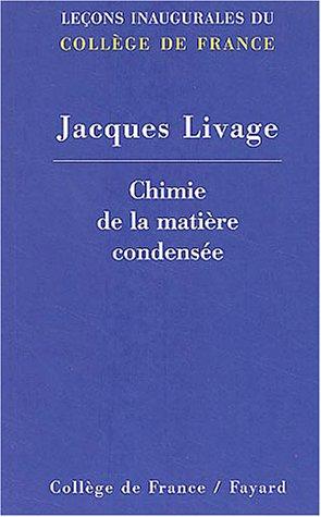 9782213617145: Chimie de la matière condensée (French Edition)