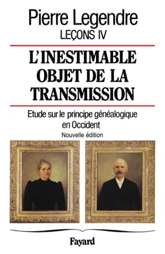 9782213619590: L'inestimable objet de transmission