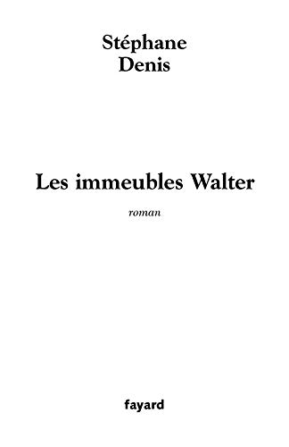 9782213620640: Les Immeubles Walter (French Edition)