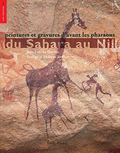9782213624884: Peintures et gravures d'avant les pharaons du Sahara au Nil