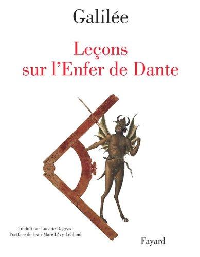 Leçons sur l'Enfer de Dante Galilée; Lévy-Leblond,
