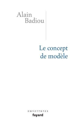 9782213634814: Le concept de mod�le : Introduction � une �pist�mologie mat�rialiste des math�matiques