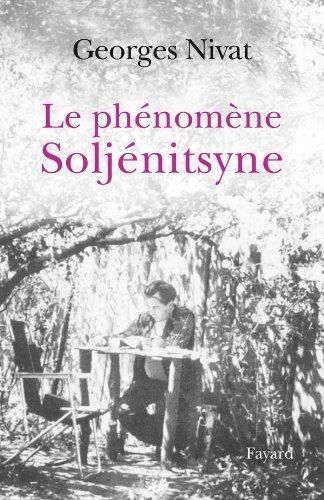 9782213636283: Le ph�nom�ne Solj�nitsyne
