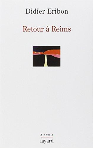 9782213638348: Retour a reims - une theorie du sujet: Une théorie du sujet (Histoire de la pensée - à venir)