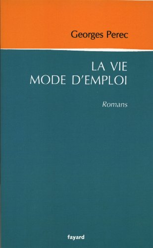 9782213663098: La vie mode d'emploi (Littérature Française)