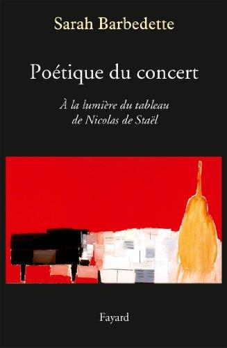 9782213671741: Poétique du concert (Musique)