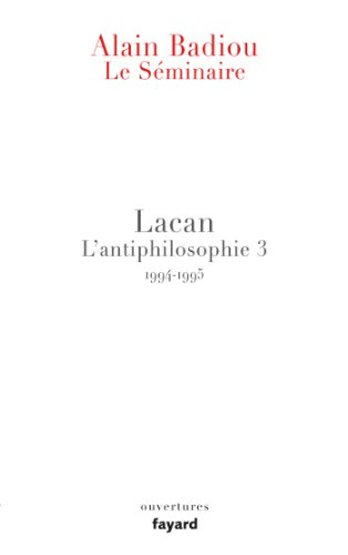 9782213672472: Séminaire Lacan (French Edition)