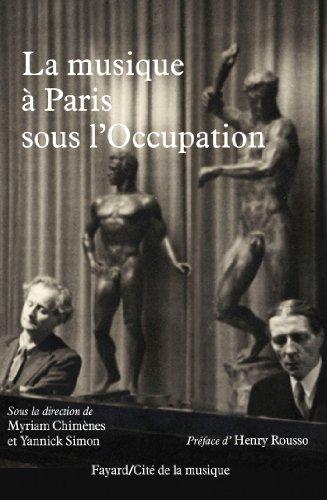 9782213677217: La musique à Paris sous l'Occupation