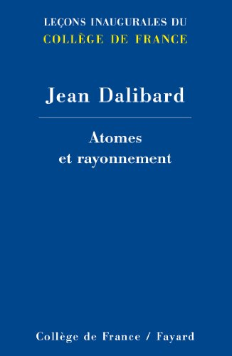 ATOMES ET RAYONNEMENTS: DALIBARD JEAN