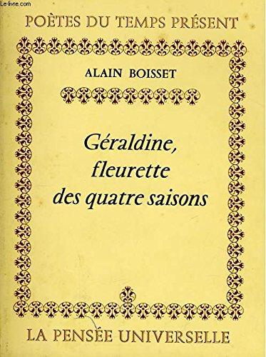 9782214047132: Géraldine, fleurette des quatre saisons