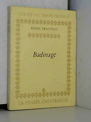 9782214084908: Badinage