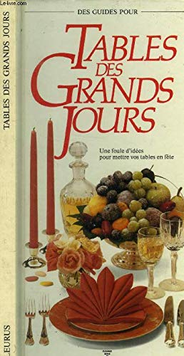 Tables Des Grands Jours (Spanish Edition): Susy Smith