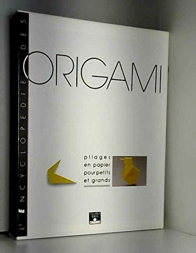 9782215014164: L'ENCYCLOPEDIE DES ORIGAMI COFFRET 3 VOLUMES