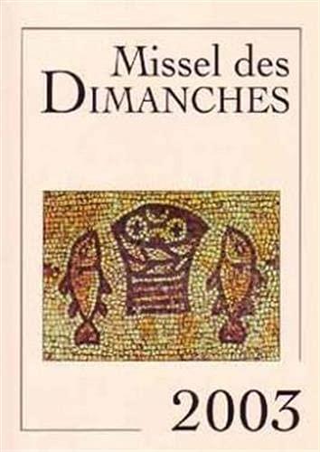 Missel des Dimanches - 2003: Collectif
