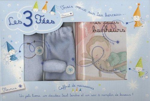 9782215048978: Coffret de naissance gar�on : Un joli livre, un doudou tout tendre et un sac � remplir de bisous !
