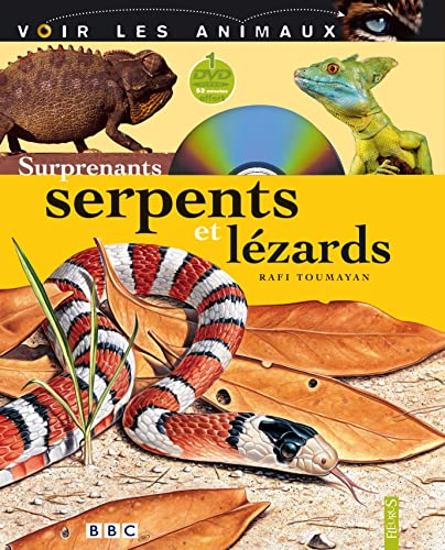 9782215055587: Surprenants serpents et l�zards (1DVD)