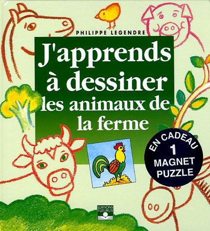 9782215073550: Les animaux de la ferme : Avec un magnet puzzle