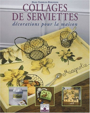 Collages de serviette décorations pour la maison