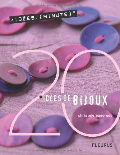9782215077404: Bijoux - 20 idées minutes