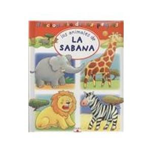 9782215086260: Los animales de la sabana/ The Animals of the Savannah (Diccionario de los peques/ Little Ones Dictionary)