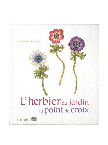 9782215092094: L'herbier du jardin au point de croix