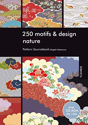9782215102281: 250 motifs et design nature (+CD-ROM)