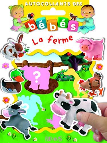 9782215104124: La ferme (Autocollants des bébés)