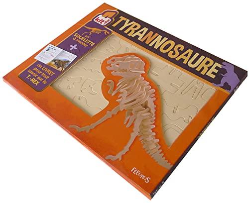 9782215108382: Tyrannosaure : Un livret et un squelette à monter
