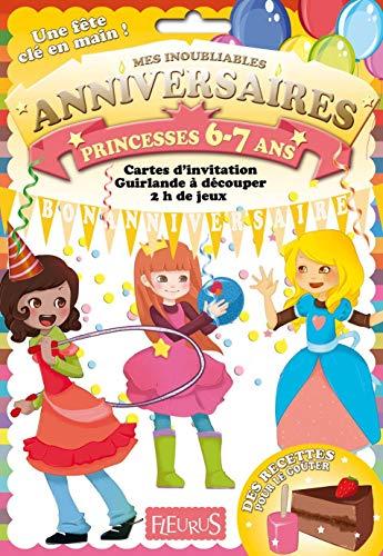 9782215109792: Anniversaire princesses 6-7 ans