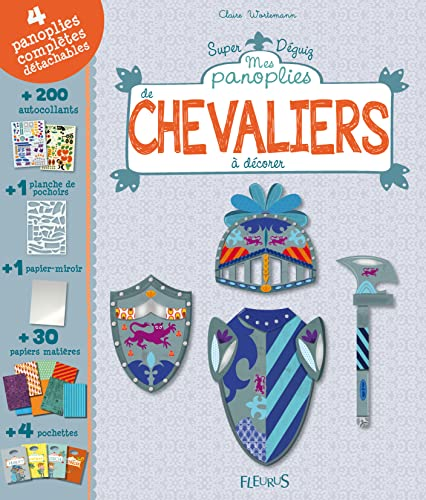 9782215110750: Mes panoplies de chevaliers � d�corer