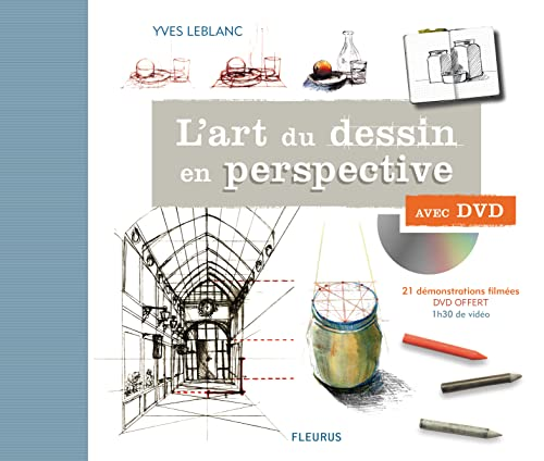 9782215111764: l'art du dessin en perspective avec dvd