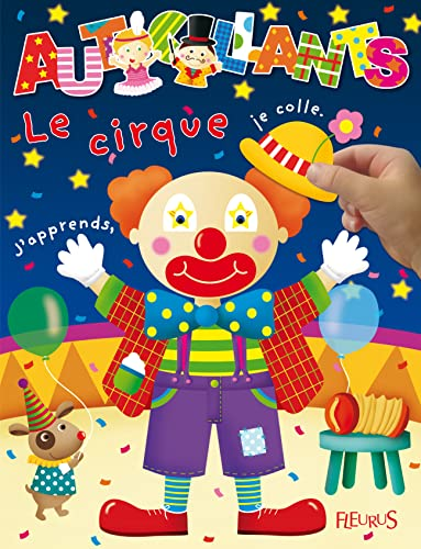 9782215114451: Le cirque (Autocollants)