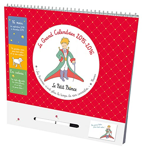 9782215128397: Le Grand Calendrier 2015/2016 Le Petit Prince [ calendar ] (French Edition)