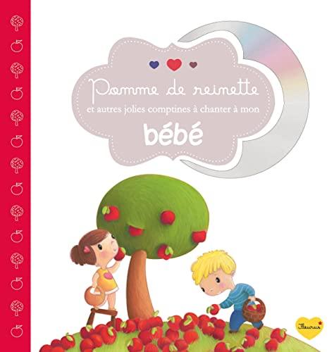 9782215128694: Pomme de reinette et autres jolies comptines à chanter à mon bébé (1CD audio)