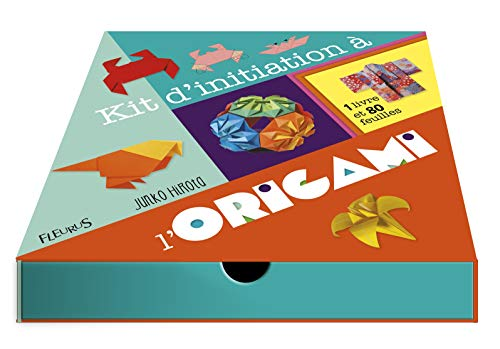 9782215155881: Kit d'initiation à l'origami : Avec 80 feuilles