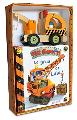 9782215160281: La grue de Lulu : Avec une grue en bois