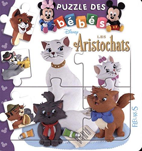 9782215160823: Bébé puzzle Disney - Les aristochats